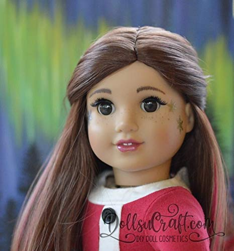 American Girl Doll Removable Makeup Accessories Winter