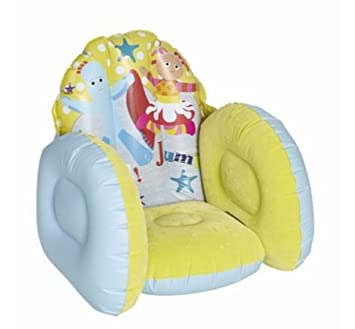 In The Night Garden Furniture In the night garden inflatable flocked chair amazon toys in the night garden inflatable flocked chair workwithnaturefo
