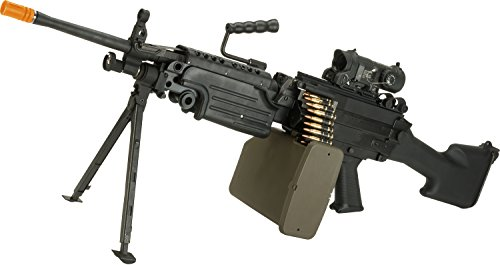 M249 Saw (Evike G&P M249 SAW Airsoft AEG Rifle (Package: Marine Version/Gun Only))