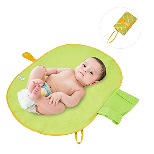 SISJULY Toddler Portable Changing Pad Mommy Clutch Bag for Baby Diaper Changing - Mommy Clutch