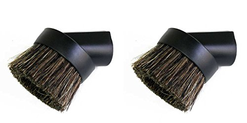 Dusting Brush Replacement (2 Pack) - Round Dusting Brush
