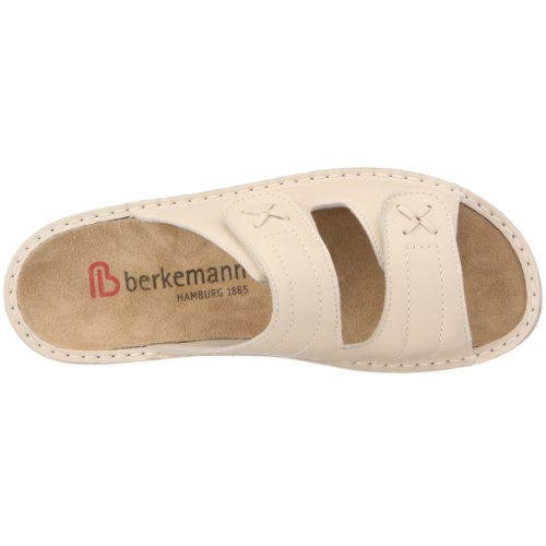 Berkemann Aventin Kerstin 3406 - Zuecos de cuero para mujer Beige (Beige (Creme))