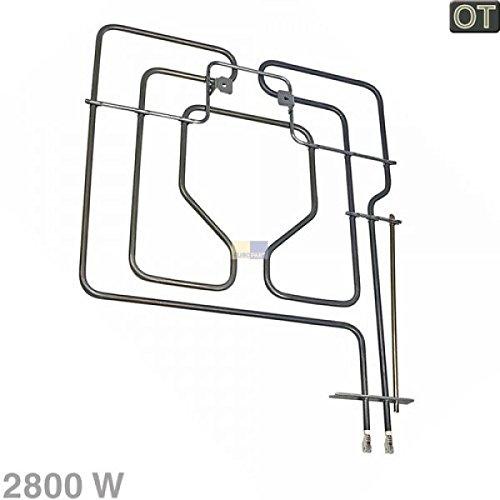 Heizung Heizelement Oberhitze 2300 Watt Backofen Herd ORIGINAL Siemens 212621