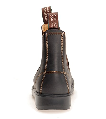 Light amp; Ladies' Chelsea Brown Dark MOONAH Country Town Boots F6nqz