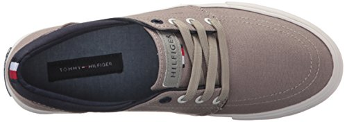 Tommy Hilfiger Hombres Redd Shoe, Gray, 10 Medium Us