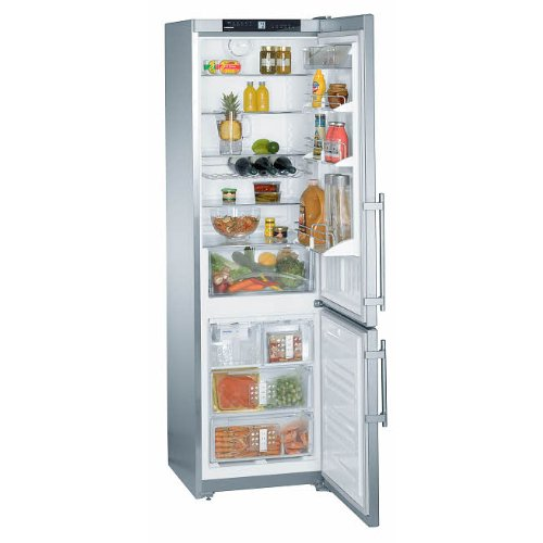 Liebherr CS1361 13.0 Cu. Ft. Stainless Steel Counter Depth Bottom Freezer Refrigerator - Energy Star - Left Hinge by Liebherr