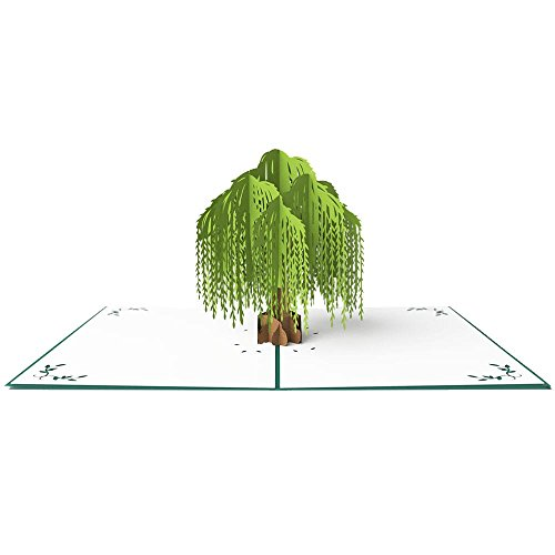 Willow Tree 3D pop up greeting card
