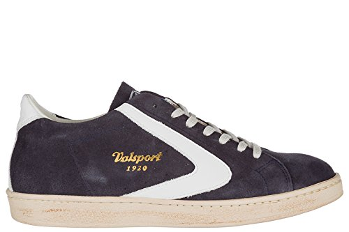 Valsport 1920 Men's Shoes Suede Trainers Sneakers Tournament blu US Size 7 TOURS304 -