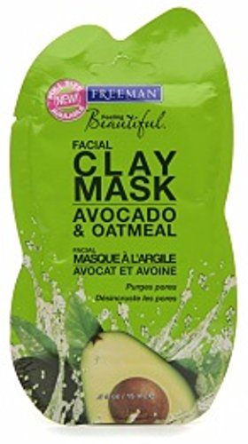 Freeman Feeling Beautiful Facial Clay Mask, Avocado & Oatmea