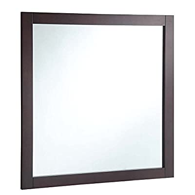 Design House Bathroom Vanity Mirror - 30W x 30H in. - Dimensions: 30W x .75D x 30H in. Frame crafted with solid wood Choose from available colors - bathroom-mirrors, bathroom-accessories, bathroom - 41LT Vc0FVL. SS400  -