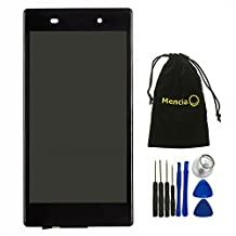 Mencia Full LCD Touch Digitizer Screen Assembly With Frame Replacement for Sony Xperia Z1 L39h C6902 C6903 C6906 C6943 (Black)