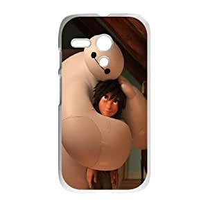 Motorola G Cell Phone Case White Big Hero 6 Baymax Warm Hug Hqnyk