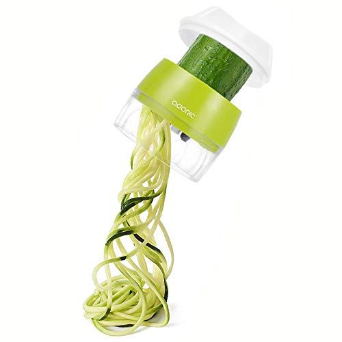Handheld Spiralizer Vegetable Slicer, Adoric 3 in...