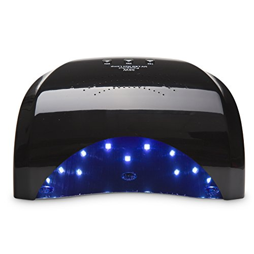 Gellen Pro 36W Nail Dryer UV LED Light/Lamp for Gel Nail Polish Quick Dry No Harm Manicure Machine