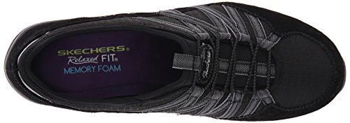 Skechers Sport Womens conversations Charming Fashion Sneaker Charcoal/Black Awz3xSxtl