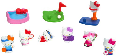 Squinkies Blip Hello Kitty Bubble Pack - Series 6 - Sports with Tiny Toys