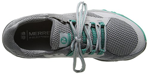 All Running Dynasty Green Shoe Grey Light Women's Trail Merrell Out Charge X55w7z