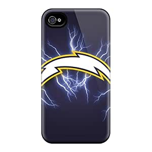 Shock Absorbent Hard Cell-phone Cases For Iphone 6plus With Custom Vivid San Diego Chargers Pictures RudyPugh