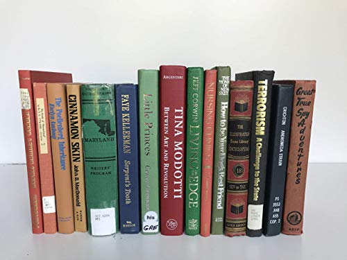 Former Library Books | Decorative Books | Used Thrift Bulk Ex-Library | Home Decor | Create Your Own Set | Fill a Bookshelf, Shelfie, Office, Home