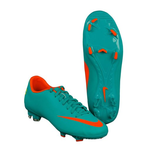 Nike Mercurial Victory III Firm Ground Football Boots - 12 - Blue