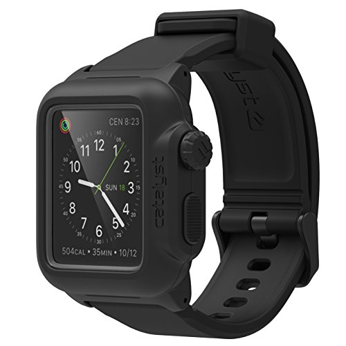 Catalyst Waterproof Shock Resistant Case for Apple Watch 42mm Series 1 - Stealth Black (42 Water Mm)