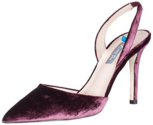 wide range of cheap online SJP by Sarah Jessica Parker Women's Bliss 90 Sling Back Heels Red (Bordo Velvet 501) very cheap online sale extremely sale shop low price for sale zn3EebcENq