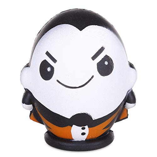 Anboor 4.3 Inches Squishies Gentleman Doll Halloween Slow Rising Scented Squishies Stress Relief Kid Toys Decorative Props ()