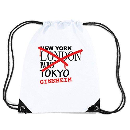 JOllify GINNHEIM Turnbeutel Tasche GYM298 Design: Graffiti Streetart New York