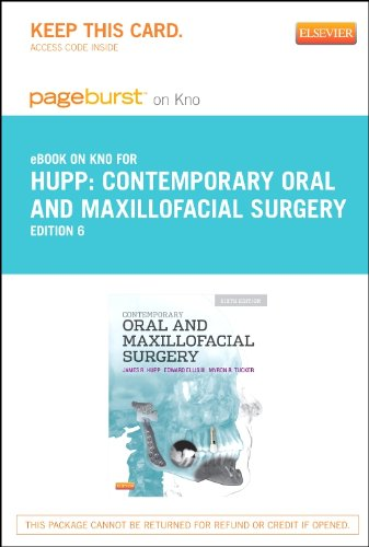 Contemporary Oral and Maxillofacial Surgery - Elsevier eBook on Intel Education Study (Retail Access Card), 6e