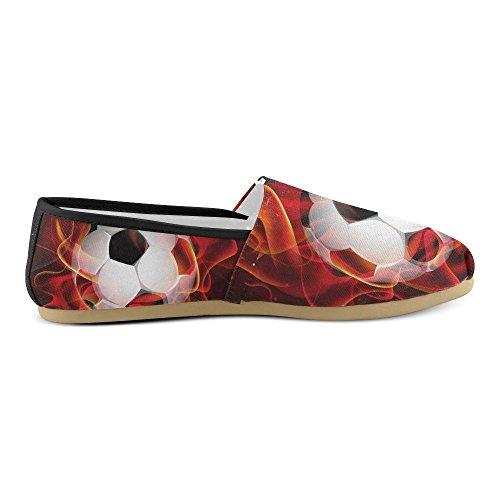 Scarpe Da Ginnastica D-story Moda Scarpe Da Donna Classiche Slip-on Scarpe Di Tela Mocassini Da Calcio