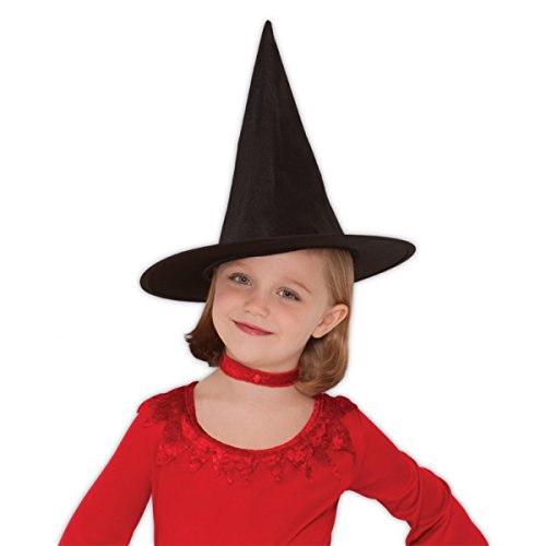 Amscan Classic Children's Witch Hat, Black, One Size]()