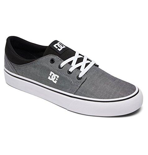 Black Homme 39 Trase Shoes Noir Baskets Basses EU Black Noir DC TX Se Gris White gCRwH4nqU