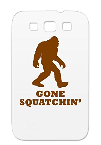 Anti-drop Gone Squatchin Case Cover For Sumsang Galaxy S3 Miscellaneous Squatchin Bigfoot Funny Gone Silhouette Sasquatch Brown Outline Funny Shadow TPU