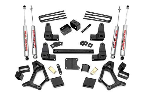 Rough Country - 734.20-4-5-inch Suspension Lift Kit w/Premium N2.0 Shocks for Toyota: 89-95 Standard Cab Pickup 4WD