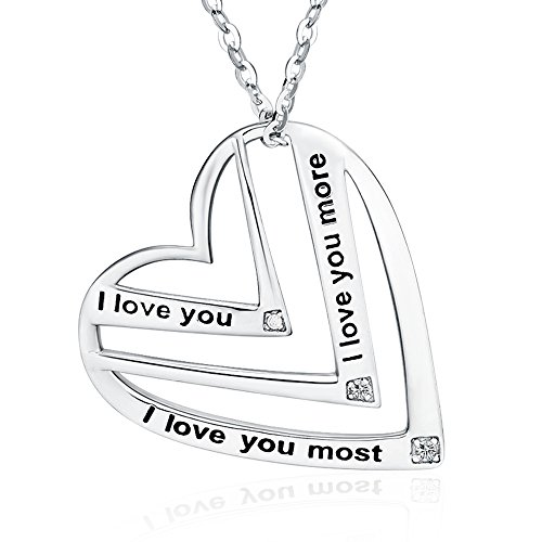 Top 10 best necklace love you more: Which is the best one in 2019?