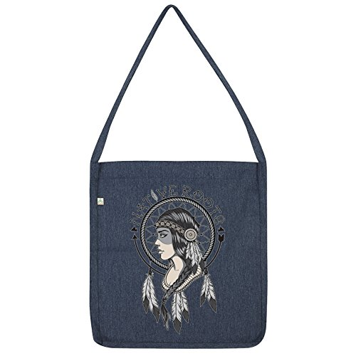 Tote Indian Native Envy Navy Bag American Twisted Roots XTqHUww