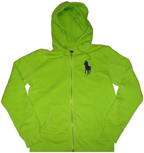 Polo Ralph Lauren Big Pony Women\u0027s Hoodie Sweatshirt Green Size S