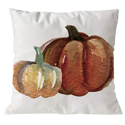 Happy Halloween Pumpkin Pillowcase,Sothread Cotton Blend Home Decor Sofa Bed Pillow Case Cushion Cover Throw Pillowcase Pillow Covers 18