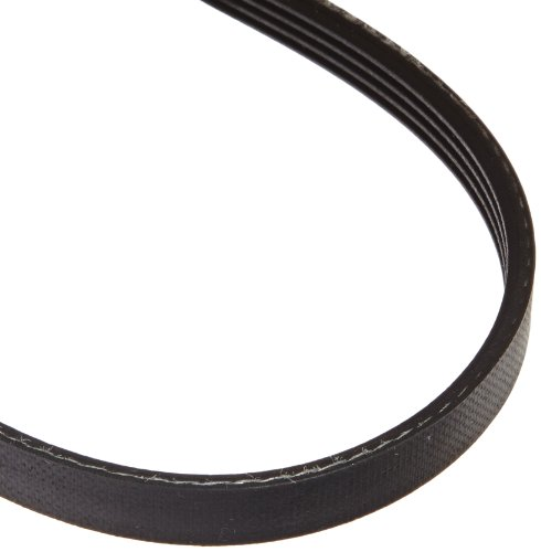 "Gates 240J4 Micro-V Belt, J Section, 240J Size, 24"" Length, 3/8"" Width, 4 Rib"
