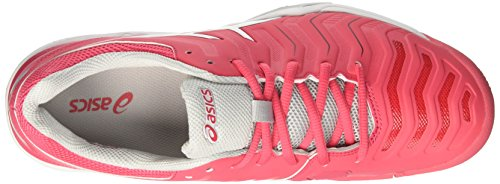 Asics De Tennis Red 11Chaussures challenger Gel glacier Femme Grey Multicolorerouge white OkPXuZiT