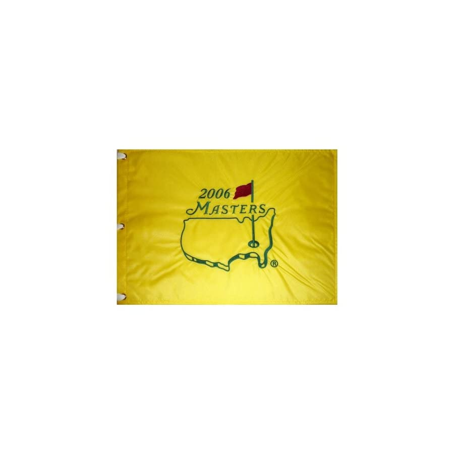 2006 Masters Embroidered Golf Pin Flag Phil Mickelson Champion