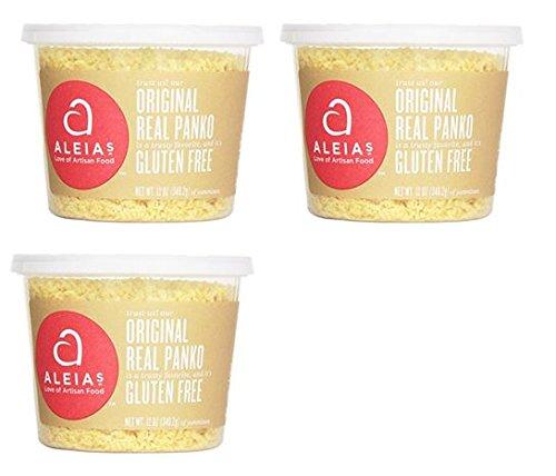 Aleias Gluten – Juego de 3 púas de panko, originales, 12 ...