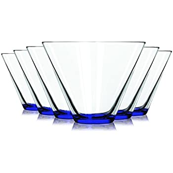stemless martini glasses canada target wholesale cobalt blue colored accent oz set additional vibrant colors available tablet