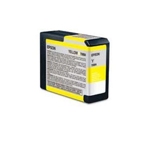 Epson Ultrachrome K3 Yellow Ink - Epson T580400 UltraChrome K3 Ink, Yellow