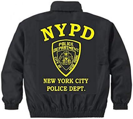 ウィンドブレーカー (黒)NYPD ニューヨーク市警