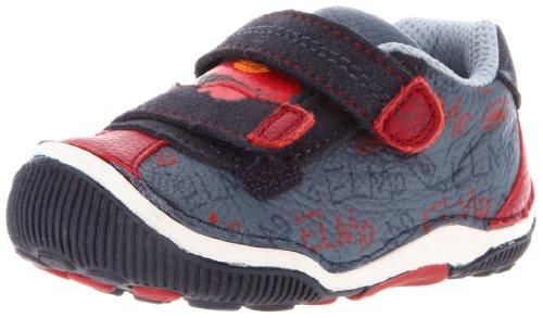 Stride Rite Sesame Street SRT Elmo Sneaker (Toddler),Blue/Red,5.5 M US (Sesame Street Toddler Shoes)