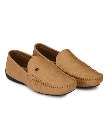0a0dafcb8ee2f Shoe Smith Woodland Men Tan Loafers Shoe  Buy Online at Low Prices in India  - Amazon.in
