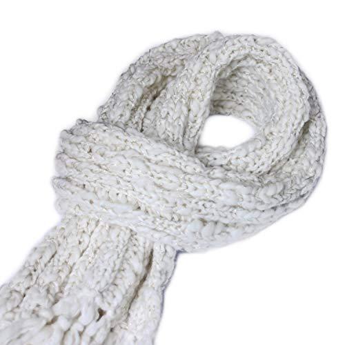 reputazione affidabile professionale più votato nuovo elenco Morbida Sciarpa in lana da donna. Sciarpa fatta a maglia con ...