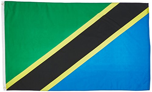 US Flag Store Tanzania 3ft x 5ft Printed Polyester