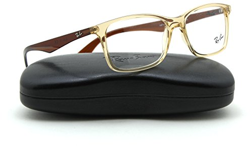 Ray-Ban RX7047 Rectangle Unisex Eyeglasses RX-able Frame 5770, 56mm
